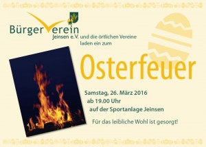 Osterfeuer2016